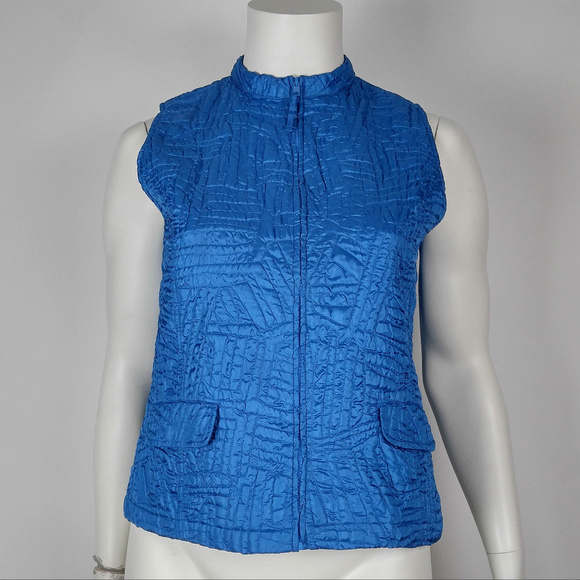 25e6cf7677235 Chico s Vest Quilted Blue Size 3 XL. Chico s. M 5b943879951996b6b2b680ef.  M 5b943879c9bf50c34e2f6942. M 5b9438792beb7965dade2bff.  M 5b94387a819e906a30f2f5dc